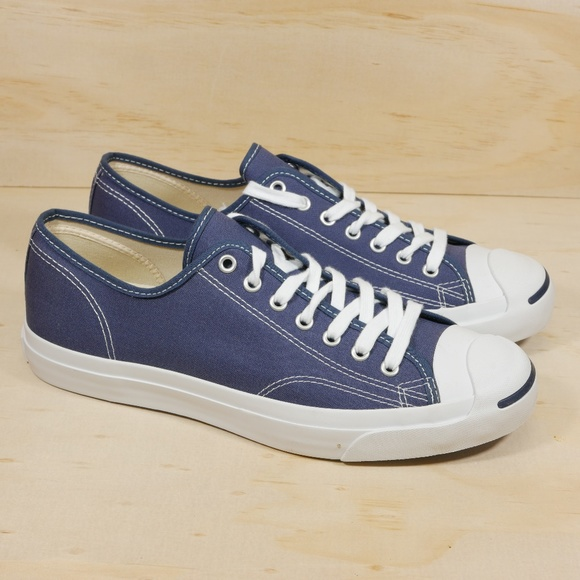 932ee92d4a7f NEW Converse Jack Purcell OX Navy Canvas Low Top